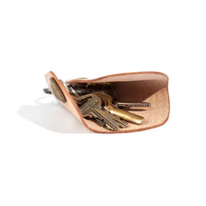 Vegetable tanned leather key holder case YG8811 - YAAGLE.com