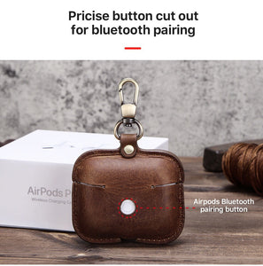 AirPods Pro leather case YG5078 - YAAGLE.com