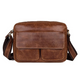 YAAGLE Top Crazy Horse Leather Sling Bag Mens Leather Bag Crossbody Bag for Men YG9754 - YAAGLE.com