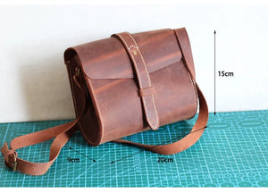YAAGLE Vintage Leather Shoulder Bag YG8816