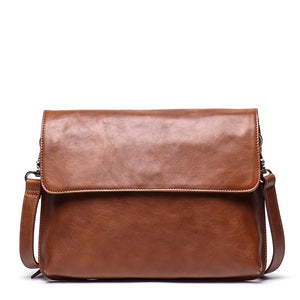 YAAGLE Genuine Leather Messenger Bag YG7530 - YAAGLE.com
