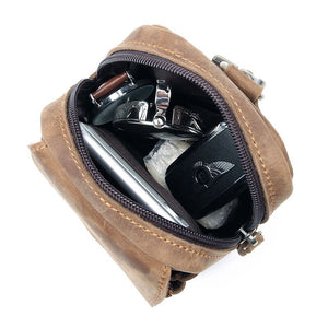 Leather Waist Pack YG5006 - YAAGLE.com