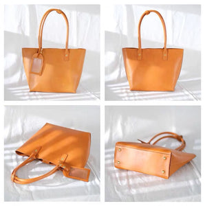 YAAGLE Handmade Leather Tote bag YG1408 - YAAGLE.com