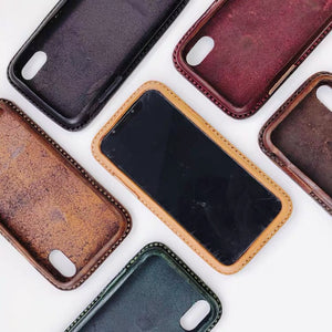 YAAGLE Leather iPhone XS case YG6675 - YAAGLE.com