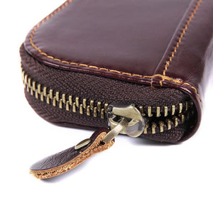 YAAGLE Genuine Leather Car Key Case YG0083 - YAAGLE.com