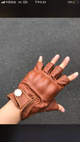 YAAGLE Leather Gloves  Driving Gloves for Men YG6645