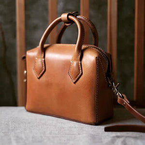 YAAGLE Real leather shoulder bag Handmade stylish Crossbody high- end custom tote leather bag for women YG5231 - YAAGLE.com