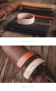 YAAGLE Brilliantly Finished and Designed Handmade Single Genuine Leather Bracelet YG0044 - YAAGLE.com