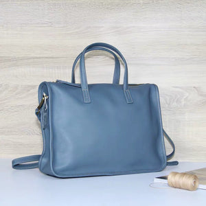 YAAGLE Genuine Leather Business Messenger Handbag YG9900 - YAAGLE.com