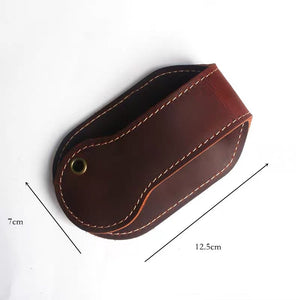 YAAGLE Vintage Leather coin Purse men outdoor Utility Self-Defense EDC Tool Wallet YG5203