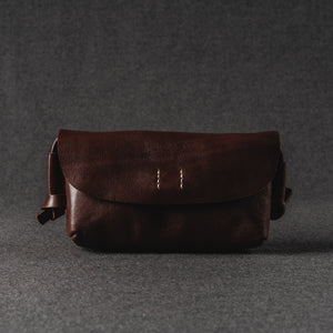 YAAGLE Women Handmade Tanned Leather Cross Body Bag Clutch YGWF18 - YAAGLE.com