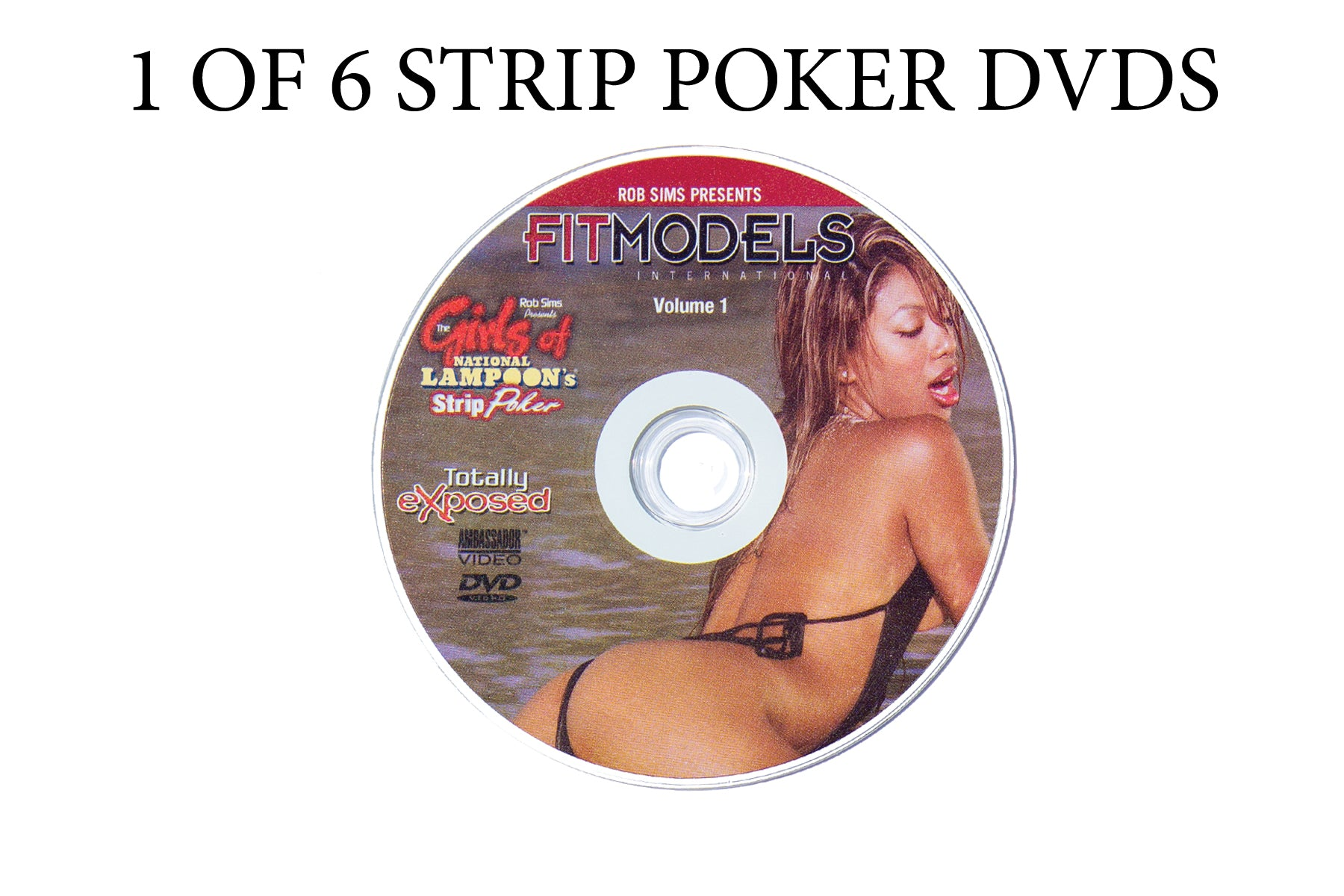 National Strip Poker Series 6 DVDs t buy any single DVD
