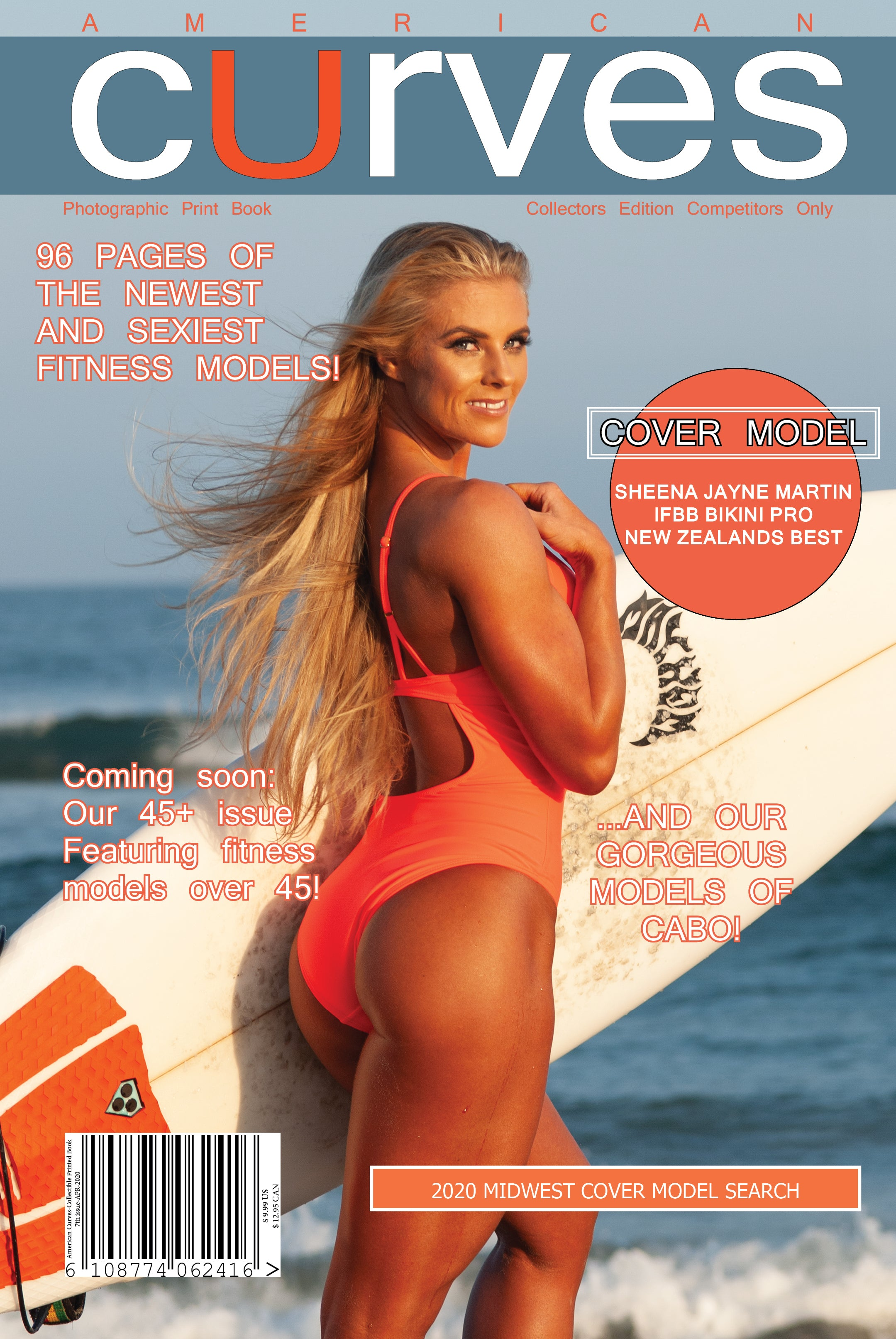 American Curves Magazine-7th Issue 2020-Collectors edition [Paper-back]