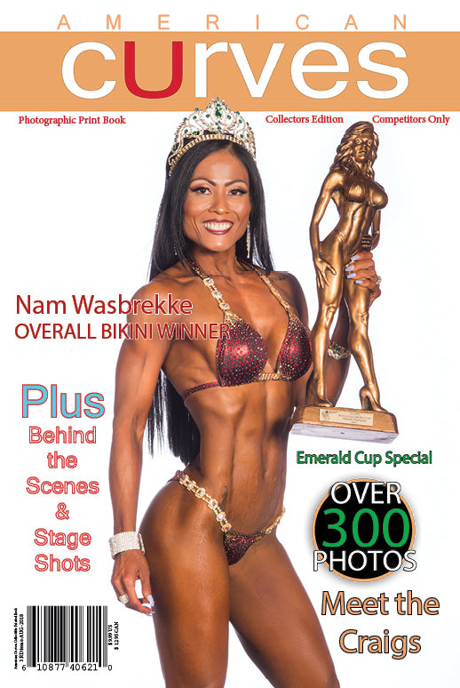 American Curves Magazine-3rd Issue-Emerald Cup Special 2018 Collectors edition [Instant Download]