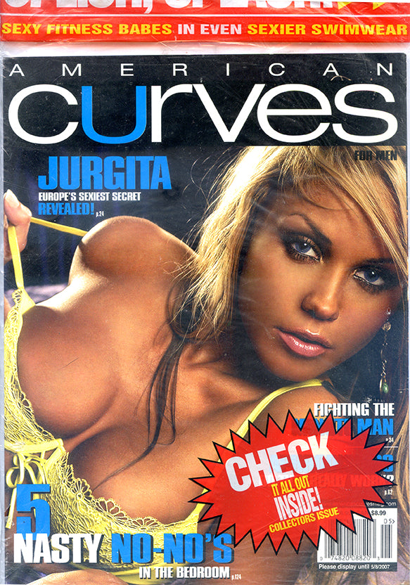 """American Curves"" Newsstand Print Magazine Issue #33, May 2007 [Paper back]"