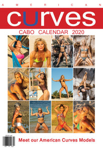 American Curves Calendar 2020, photographed in Cabo San Lucas 13x19 in [ Printed Paperback]