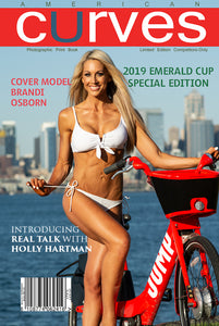 American Curves Magazine-6th Issue-Emerald Cup Special 2019 Collectors edition [Paper-back]