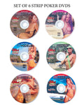 National Strip Poker Series 6 DVDs in the complete set