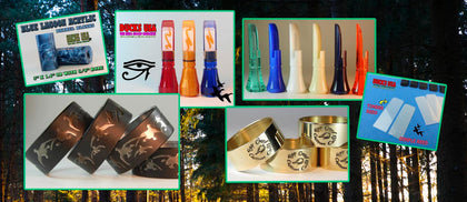 DUCK CALL PARTS GALORE!!