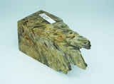 WOOD - BUCKEYE BURL LIVE EDGE DYED & STABILIZED  Premium Select Live Edge #1691