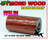 "DYMOND WOOD - AUTHENTIC CHERRY Barrel Blank ""Ready to Shape"""