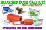 here's a look at our ULTRA DUCK CALL KITS featuring the amazing SNAKE SKIN SWIRL