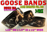BANDS - 360 FLYING GEESE PREMIUM BLACK ALUMINUM 3-PACK