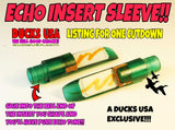 INSERT SLEEVE - POLYCARB Insert Sleeve ECHO Open Water Green Pro Tuned Glue In Sleeve