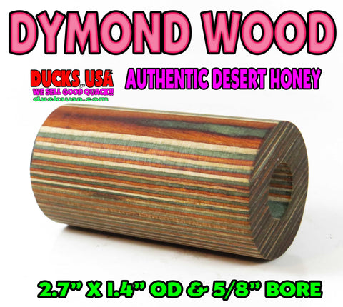 "DYMOND WOOD - AUTHENTIC DESERT HONEY Barrel Blank ""Ready to Shape"""