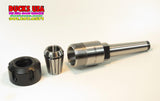 "COLLET CHUCK - COLLET CHUCK KIT 5/8"" w/ MT2 TAPERED SHAFT & BONUS COLLET TOOL!!"