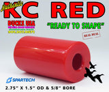 "ACRYLIC - KC RED from SPARTECH - This is AUTHENTIC KC RED full 48"" Rod $88.64"