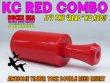 DUCK CALL KIT - KC RED ULTRA ALL ACRYLIC KIT w/ REAL KC RED NOT THE FAKE STUFF!!