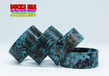 "BANDS - PATINA COPPER Custom Hand-Crafted ""SNAKE SKIN"" Patina Band"