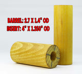 WOOD - HEDGE OSAGE ORANGE COMBO Barrel & Insert Blanks  Premium Select Blanks!!