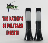 INSERT - ECHO POLYCARB INSERT BLACK TIMBER DOUBLE REED 2-PACK