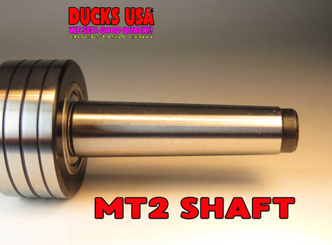 LATHE ASSECCORIES - LIVE ACTION MT2 Premium Tailstock CenterSealed Ball  Bearings