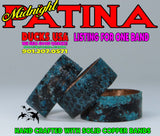 BANDS - PATINA COPPER Custom Hand-Crafted Midnight Patina 1-PACK