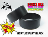BANDS - ACRYLIC FLAT BLACK CUSTOM CNC CRAFTED SPECIAL 2-PACK LIMITED SUPPLY