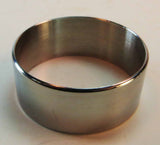 "BANDS - STAINLESS STEEL POLISHED BANDS - 1.25"" OD HUGE 50-PACK!!"