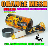 DUCK CALL KIT - ULTRA FULL ACRYLIC DUCK CALL KIT ORANGE MESH