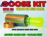 GOOSE CALL KIT -  CANADA GOOSE ACRYLIC MULTI COLORED BARREL & Polycarb Insert