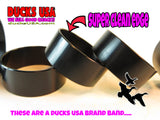 "BANDS - Aluminum BLACK ANODIZED BANDS 20-PACK - 1.25"" OD X 1.17"" ID X .5"" WIDE"