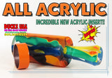 DUCK CALL KIT - ULTRA ACRYLIC FANTASY SWIRL & Matching Insert All Acrylic Kit