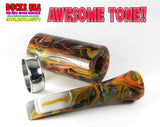 DUCK CALL KIT - ULTRA ACRYLIC FLAT EARTH SWIRL & Matching Insert All Acrylic!!