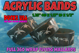 BANDS - 360 FLYING MALLARDS ACRYLIC BLACK PEARL 2-PACK