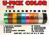 "BANDS - ANODIZED BANDS  U-PICK COLOR 1.25"" OD X 1.10"" ID X .5"" WIDE"
