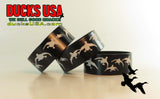 BANDS - 360 FLYING MALLARDS BLACK LASER ENGRAVED - 1 DOZEN