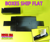 BOXES - Basic Black Call Boxes Special 5-PACK - Boxes Ship Flat