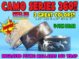 BANDS - 360 FLYING MALLARDS CAMO POWDER COATED SERIES U-PICK COLOR!!