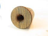 INSERT - WOOD BLANK Pre-drilled with O-Ring You Cut Toneboard & Shape Bell End